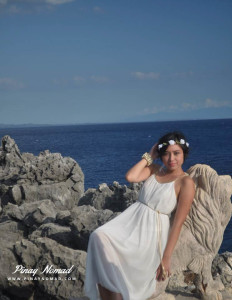 photoshoot at fortune island