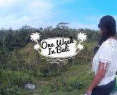 One Week in Bali