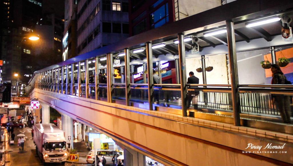 Unusual Attractions Hong Kong - World's Longest Escalator