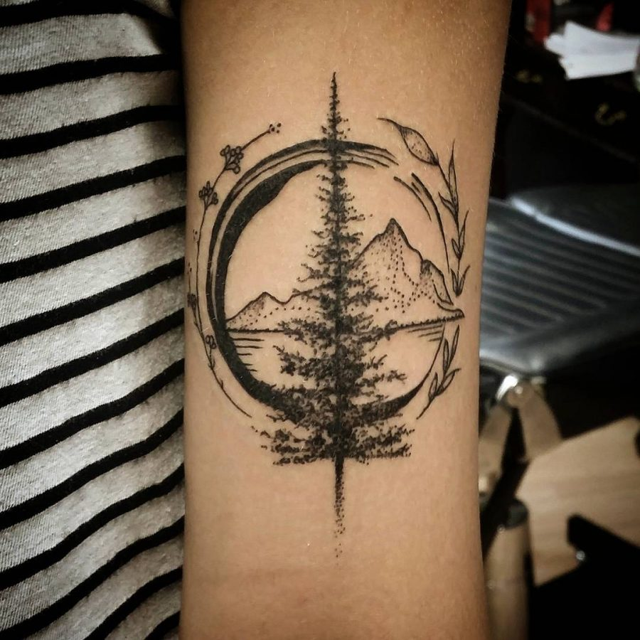 Best Tattoo Design Ideas: 50 Inspiring Travel Tattoos For Travel Addicts