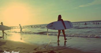 Surfing in La Union