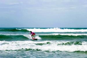 Bagasbas Beach Surfing