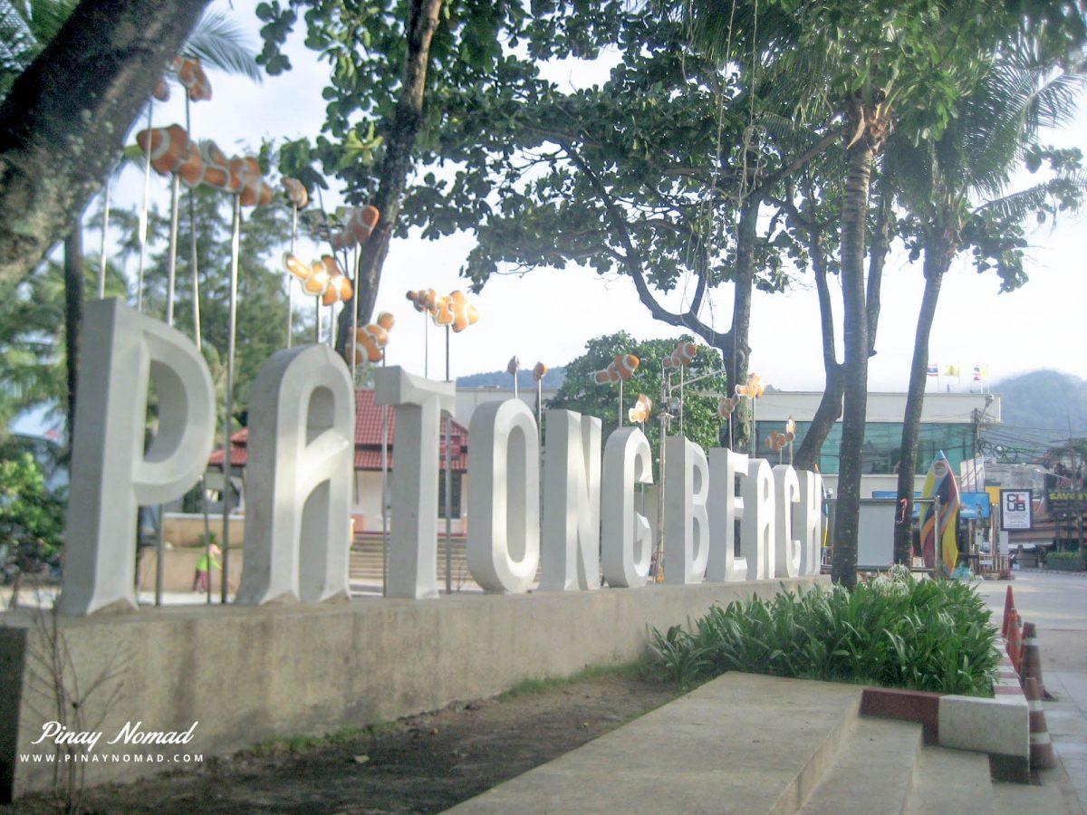 patong beach shopping