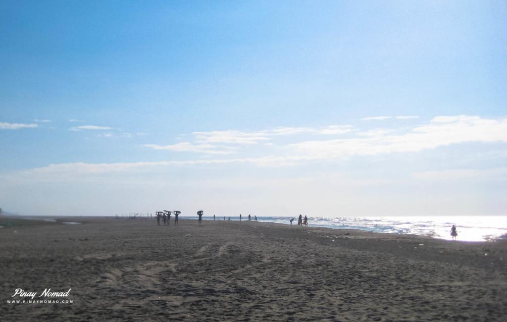 surfers in Zambales
