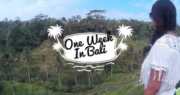 1 week in Bali