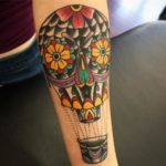 hot air balloon tats