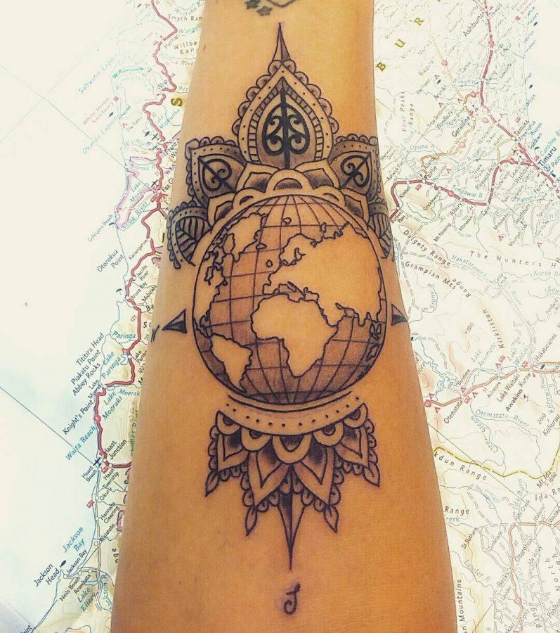 50 Inspiring Travel Tattoos For Travel Addicts