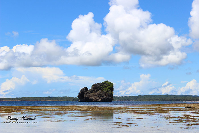 magpupungko pilar siargao island