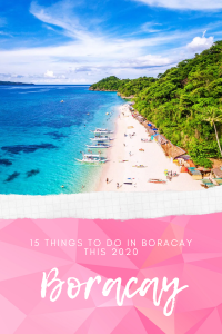 Things to do in boracay 2020