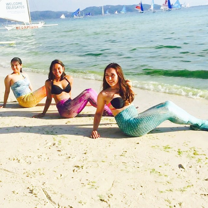 Philippine Mermaid Swimming Academy, Boracay