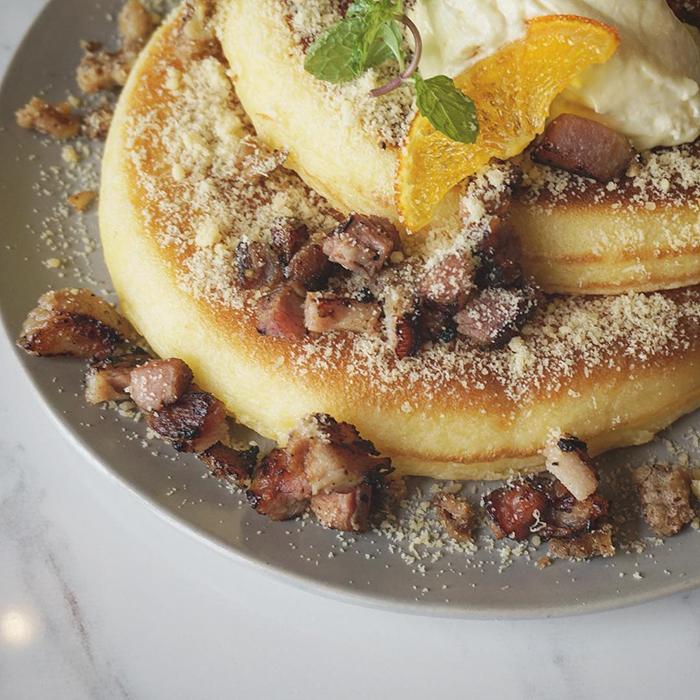 pancakes The Sunny Side Cafe Boracay