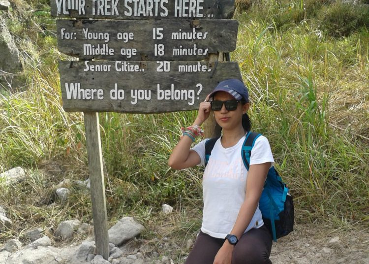Mt. Pinatubo in Botolan, Zambales