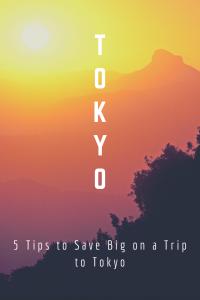 Tokyo budget travel tips