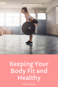 keep your body fit and healthy