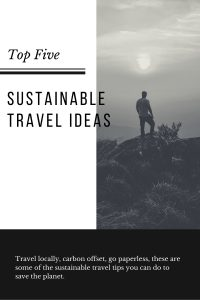 sustainable travel tips